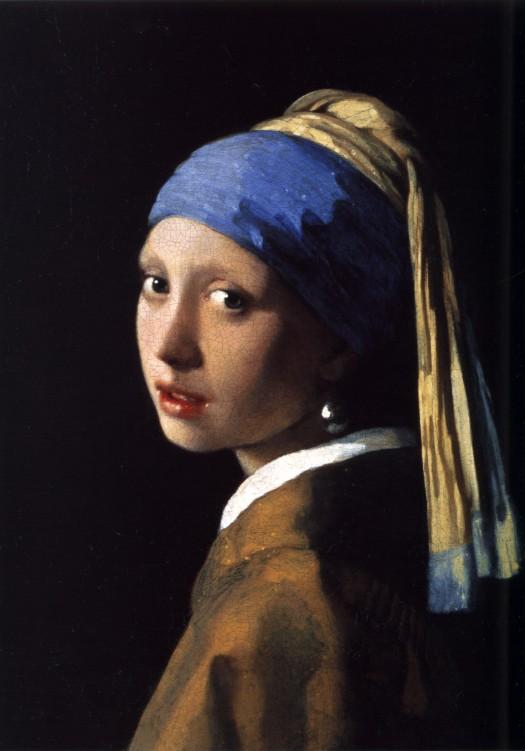 Johannes Vermeer, Rapariga com Brinco de Pérola, 1665