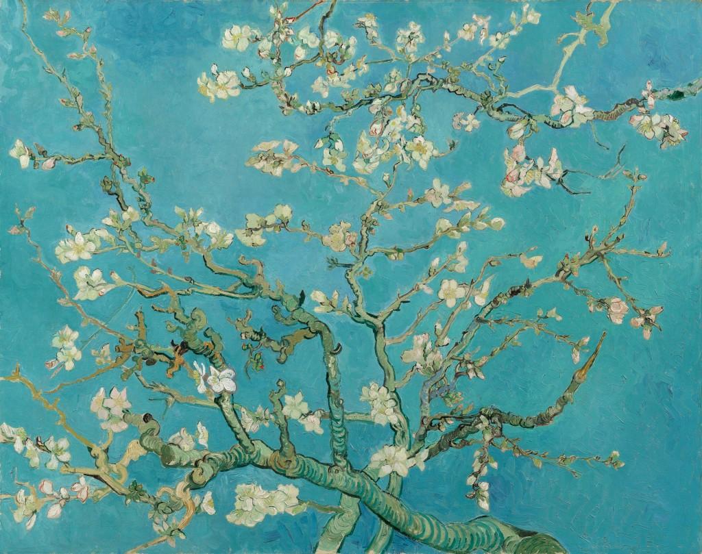 Vincent van Gogh, Amendoeira em Flor (Almond Blossom), 1890
